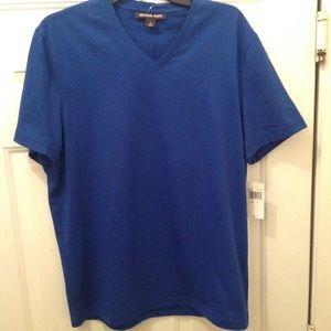 Men's V neck Michael Kors T shirt size medium